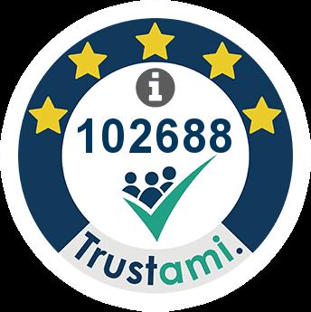 Trustami Vertrauenssiegel (Mini) von Electronicx GmbH