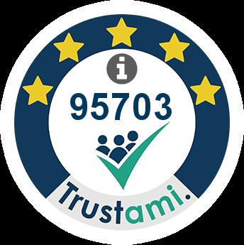 Trustami Vertrauenssiegel (Mini) von brillenetuis24