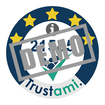 Trustami trust badge (Mini) of nonsolofari
