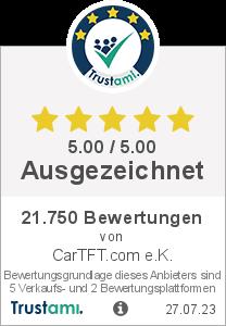 Trustami Vertrauenssiegel von CarTFT.com e.K.