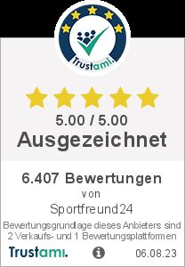 Trustami Vertrauenssiegel von sportfreund24.de