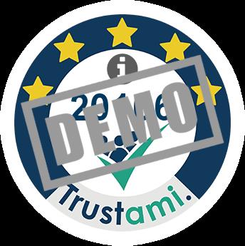 Trustami Vertrauenssiegel (Mini) von Indicode.com