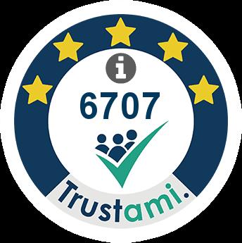 Trustami Vertrauenssiegel (Mini) von SD Warenhandel