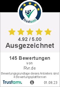 Trustami Vertrauenssiegel von Rvr.de
