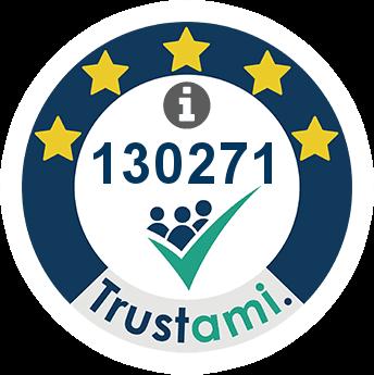 Trustami Vertrauenssiegel (Mini) von hbh24online.de