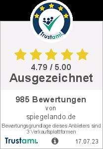 Trustami Vertrauenssiegel von spiegelando.de