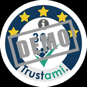 Trustami Vertrauenssiegel (Mini) von Anonymous