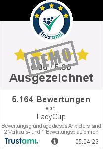 Trustami Vertrauenssiegel Box von LadyCup