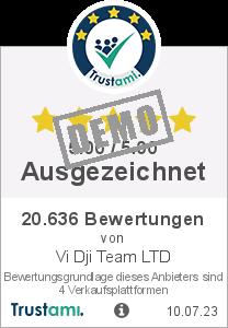 Trustami Vertrauenssiegel Box von Vi Dji Team LTD