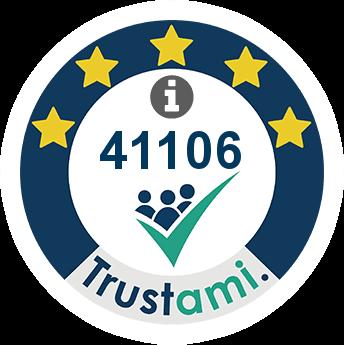 Trustami Vertrauenssiegel (Mini) von time4wellness